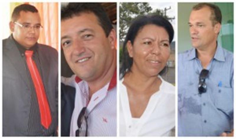 Felipe Vieira, Besaliel, Vilma do Peixe e Valterio