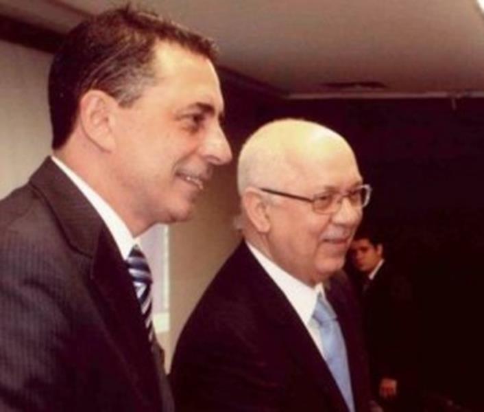 Sergio Carneiro e o Ministro do STF, Teori Zavasck