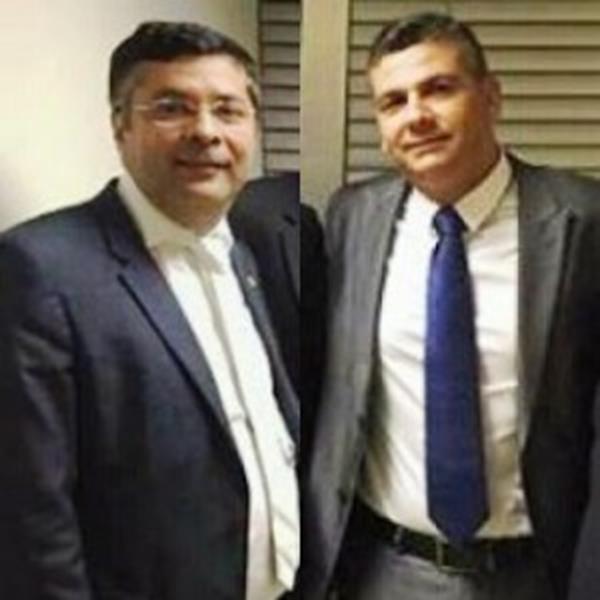 Deputado Fernando Torres e Marcel Gomes