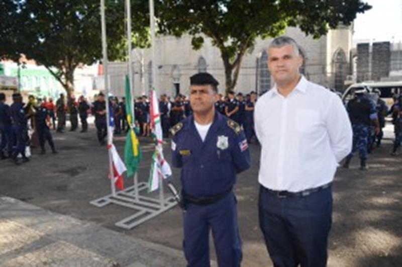 Secretario Pablo e Ailton Almeida
