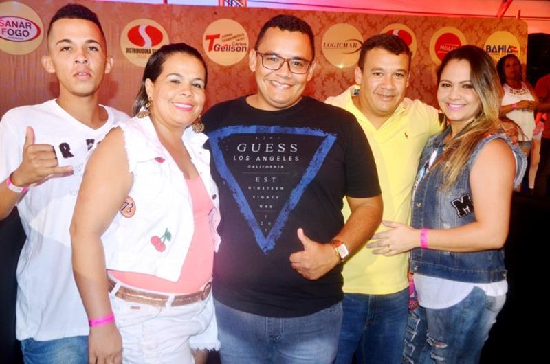 Vereador Felipe Vieira e família