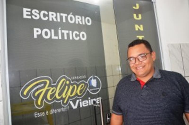 Vereador Felipe Vieira