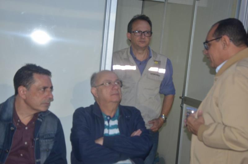 Zé Ronaldo, Sergio Carneiro, Roberto Tourinho e Mauricio Carvalho