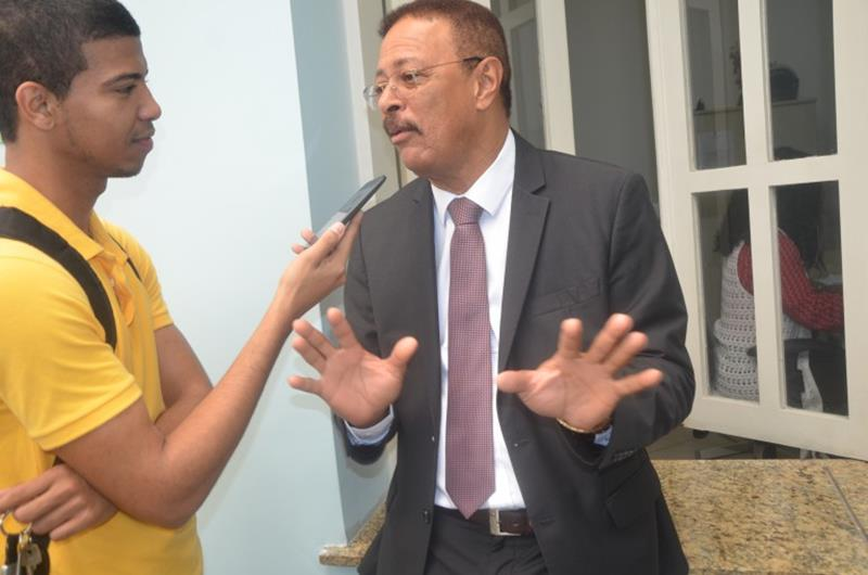 Vereador Nery e o radialista  Danilo Freitas
