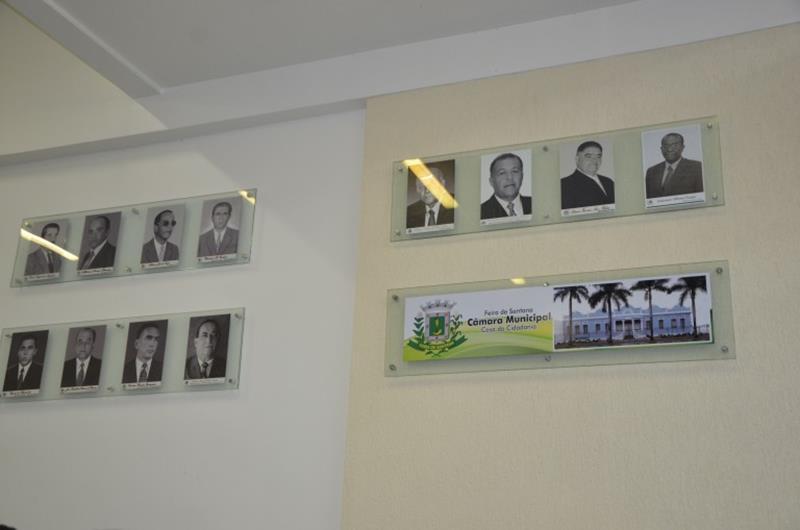 Galeria dos ex-presidentes da Câmara Municipal de Feira de Santana