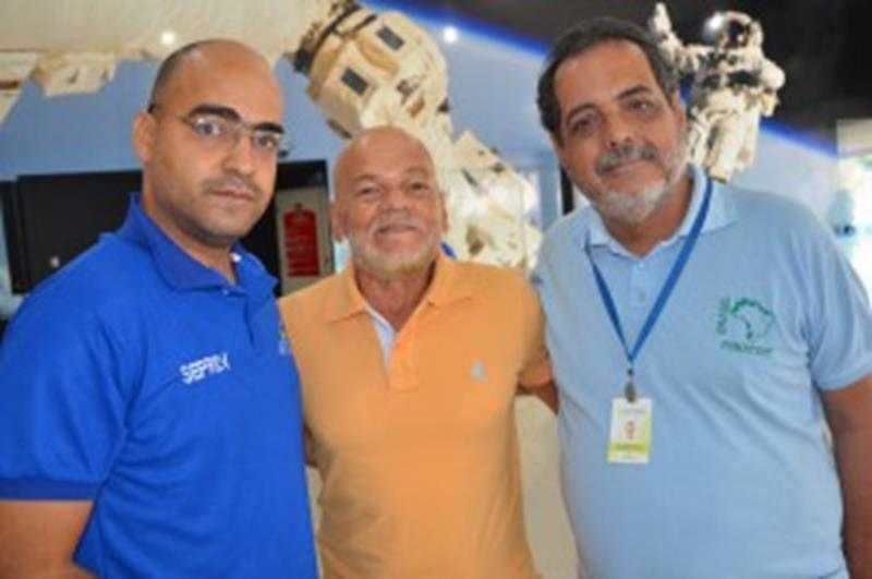 Pedro Américo, Carlos Thadeu e Sergio Aras