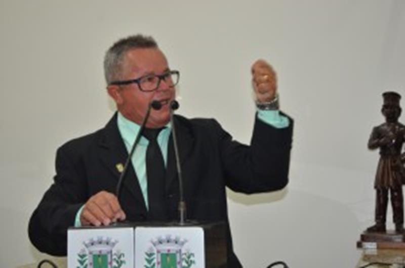Vereador Zé Filé/ foto Osvaldo Cruz
