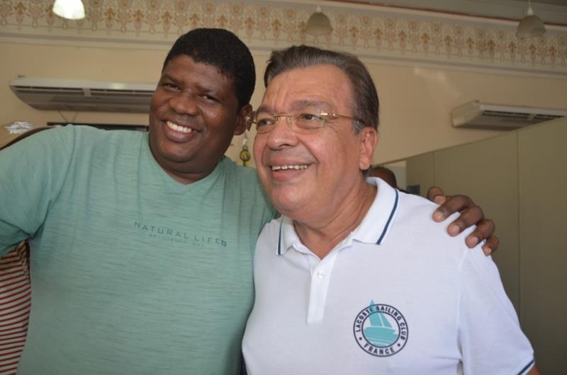 Deputado Targino Machado e Raimundão da Conceição