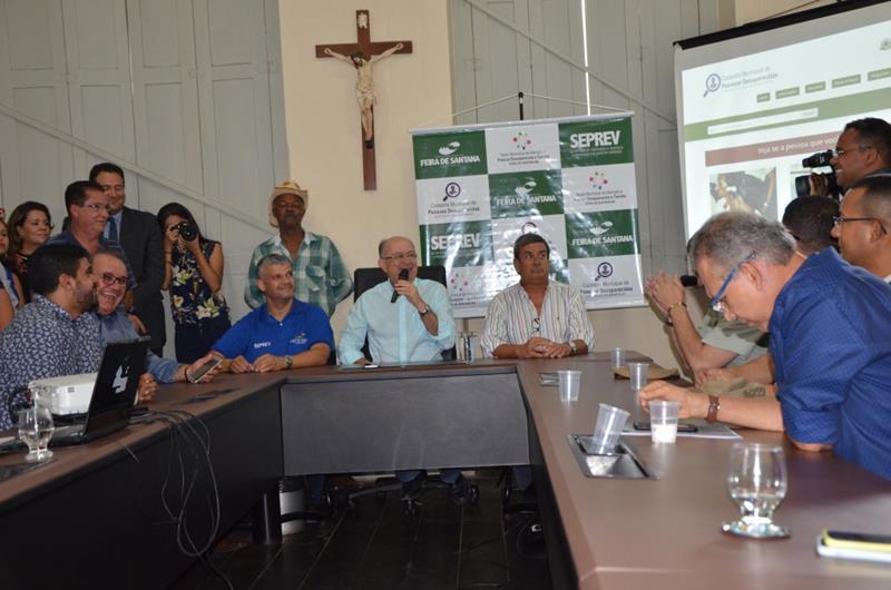 SEPREV lança projeto pioneiro no Brasil de achados e perdidos