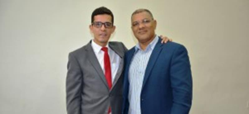 Dr Alex e o radialista Osvaldo Cruz