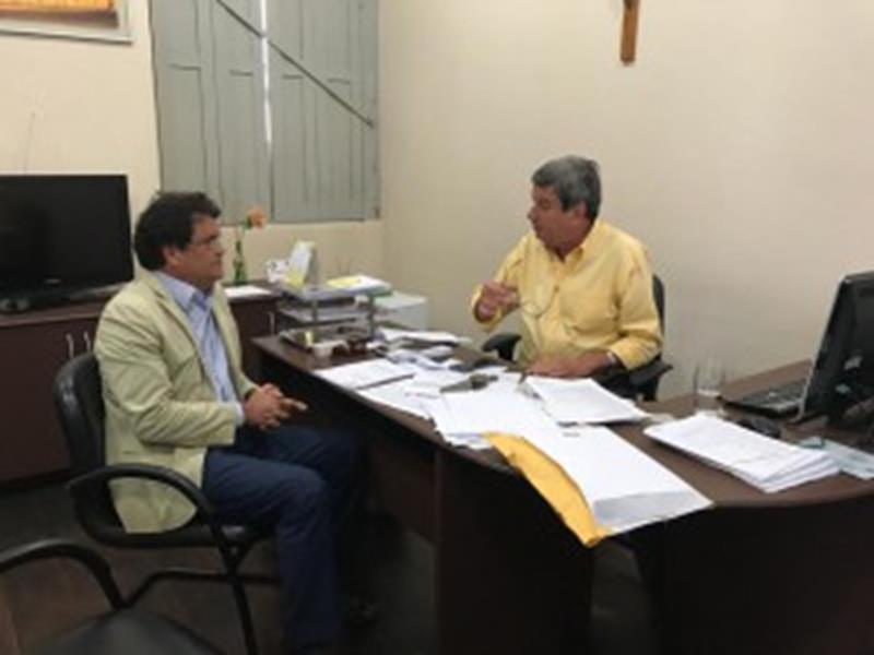 Angelo Almeida e prefeito Colbert Filho