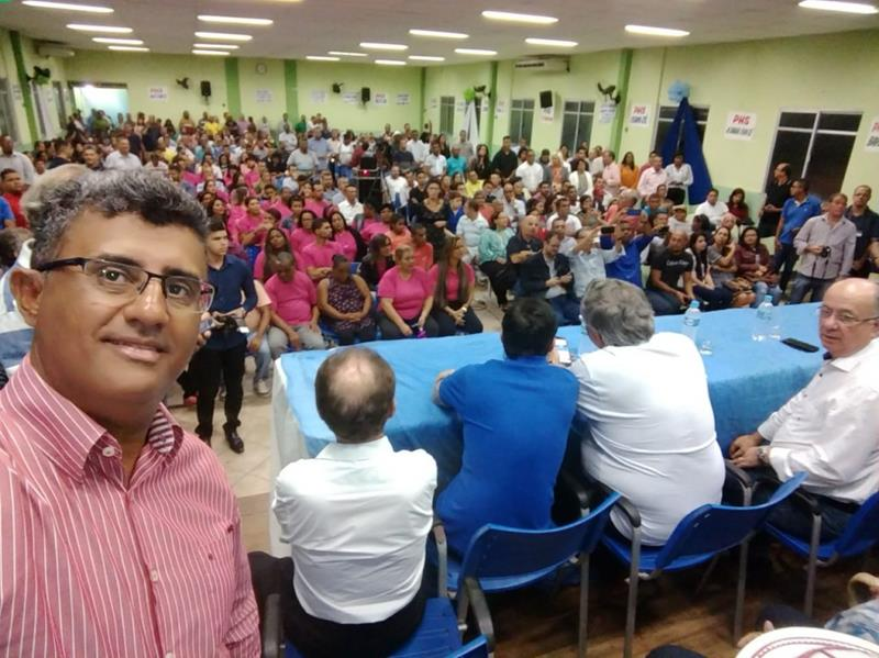 Vereador Lulinha em semana intensa de visitas pelo Estado