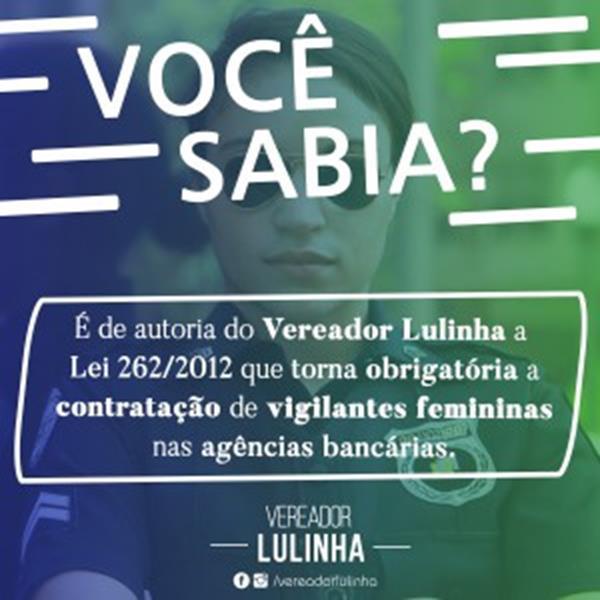 lEI DE AUTORIA DE LULINHA
