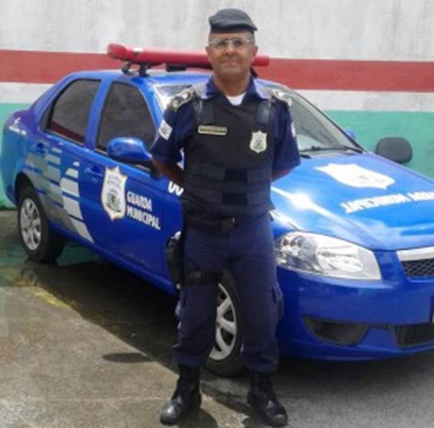 Ailton Almeida comandante da Guarda de Feira de Santana