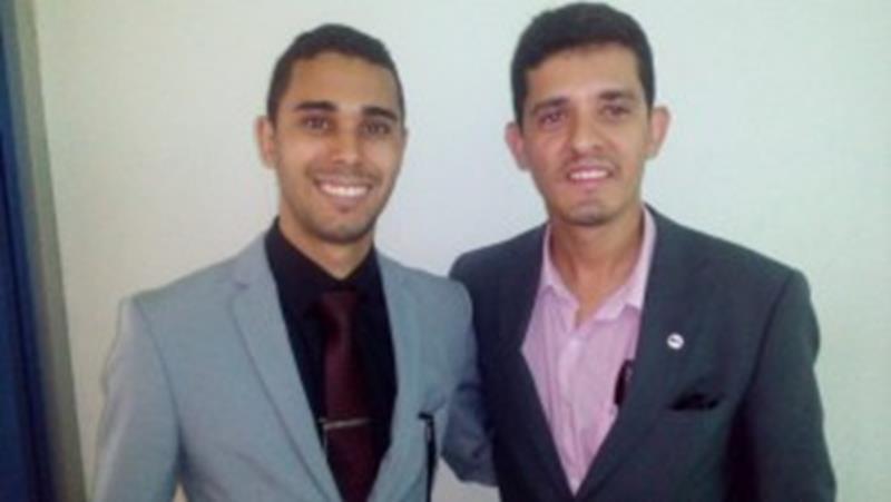 Dr. Nevton e Dr. Alex Damião