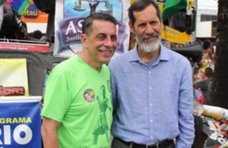 Sergio Carneiro e Eduardo Jorge,