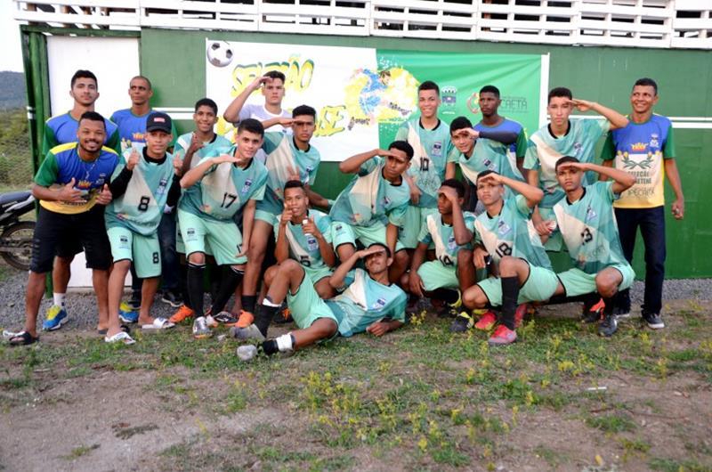 Seleção Ipecaetense na Copa da Mandioca