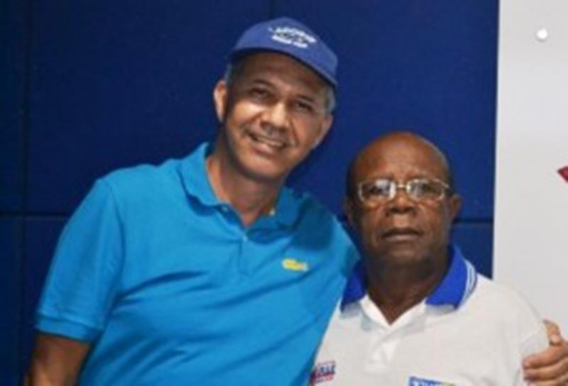 Carlos Geislon e Silverio Silva
