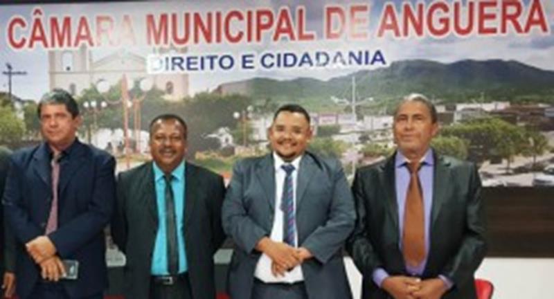 Milton de Guaribas e Felipe Vieira eleitos presidente e vice-presidente na Câmara Municipal de Anguera